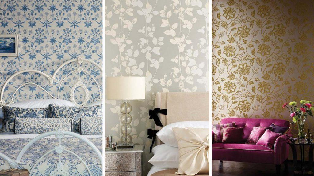 5 Tendências na decoração: papel de parede metalizado